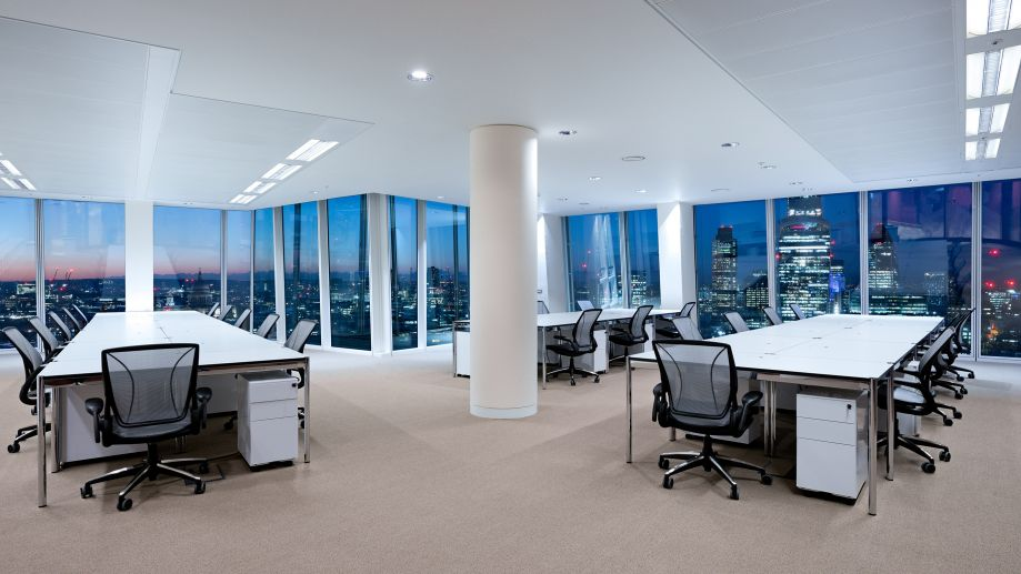 High rise office space with stunning views at TOG building 24/25 The Shard London
